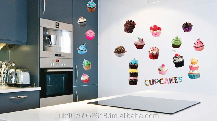 Cupcakes wall stickers