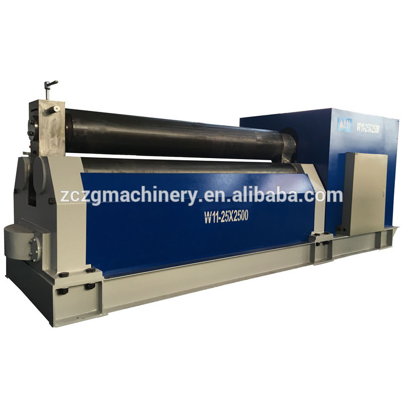 <strong>W11</strong> mechanical rolling pipe bending machine,china alloy sheet bending roller machine