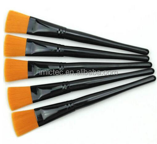 Private label face mask brush, White Facial Cleaning Mask Brush, Cheap Price Liquid Mask Brush