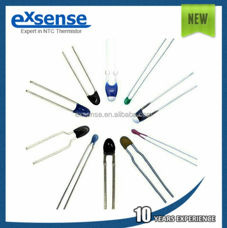 Non-insulated radial leaded NTC thermistors 10k