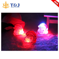 LATEST! flashing led christmas gift chinese various shapes funny fashion brooch