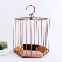 ramadan decorations metal craft chocolate tray bird cage for ramadan gift