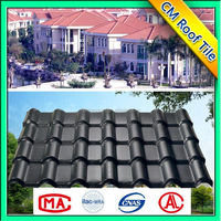 Custom Made Non-Flammable Synthetic Resin Roof Tile