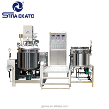 Guangzhou Price Chemical Machinery Mixing Equipment Small Milk Vacuum Mixer Homogenizer For Cosmetics Food Industry