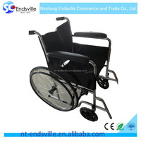 2016 New Product lightweight foldable steel wheelchair