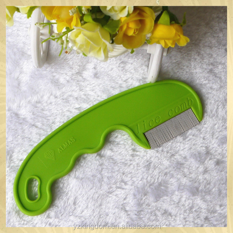 Best selling Fine-teeth pet lice Comb with plastic handle wholesale online
