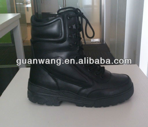 Export Professional Imported Leather Industrial Half Boots For Sale Half Cut Safety Boots For Military