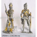 pewter warrior,pewter soldier,metal craft,home decoration