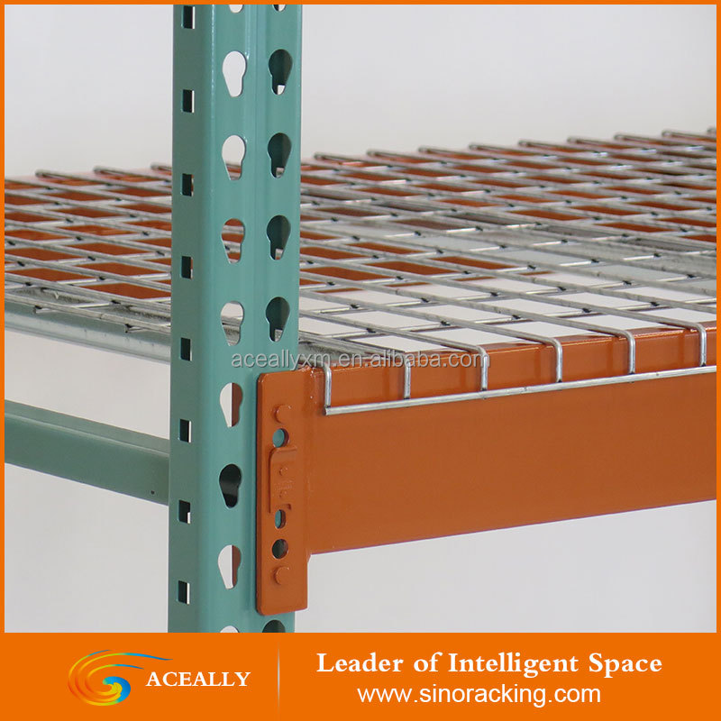 Economical warehouse rack adjustable steel shelving for Sale