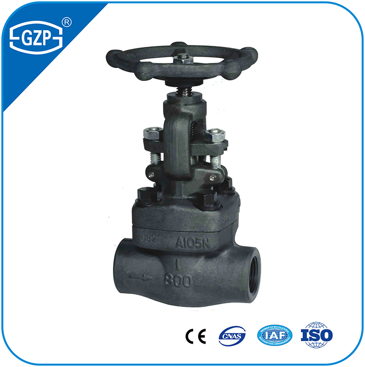 High Quality High Pressure Forged Steel Gate Valve for Steam