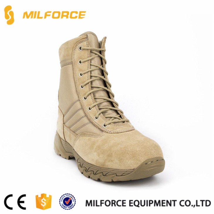 ISO standard mesh fabric military army combat boots
