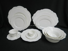White Ceramic Dinnerware,English Dinnerware, Exclusive Porcelain Dinnerware