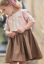 CONICE NINI brand vintage design frock designs for small girls