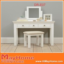 Simple Pretty design makeup desk /dressing table with stool / jewelry cabinet