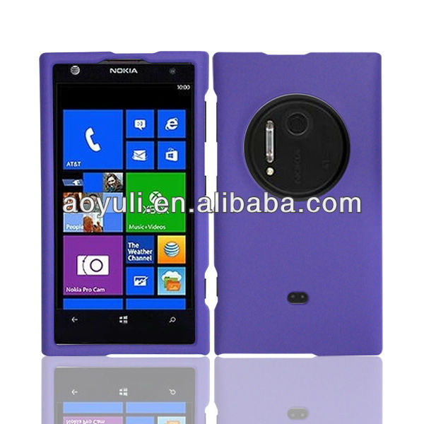 for Nokia lumia 1020 PC case cover, rubber phone case for Nokia 1020, phone accessory
