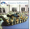 best quality Inflatable military tank
