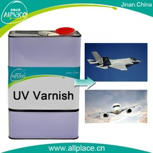 Customized UV varnish for plane repairing