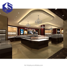 Jewelry display stand showcase jewellery shop interior counter furniture design image