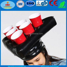Inflatable Beer Pong Hats, Inflatable Beer Pong Head Game