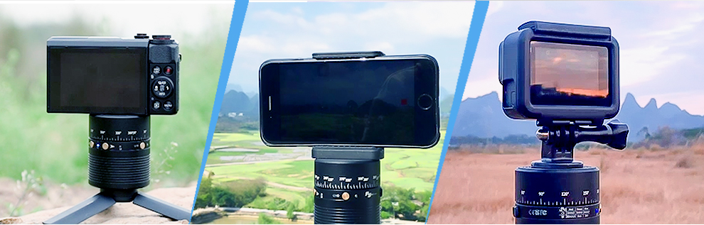 Feiyu Autorotation Stand for action camera / smart phone / camera