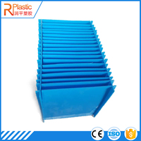 corrugated pp hollow plastic storage box for files