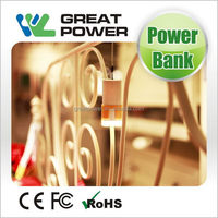 New style hot sell solar power bank charger 5000mah