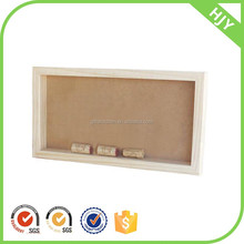 wholesale new product wine cork holder and shadow box frames wood