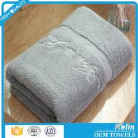Wholesale bright colored thin cotton hotel bath towels 21s