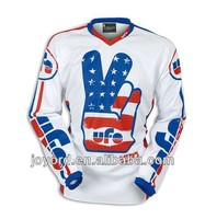Sublimation custom race gear for motocross