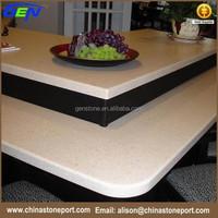 Quality assurance artificial chinese countertop quartz stone slab