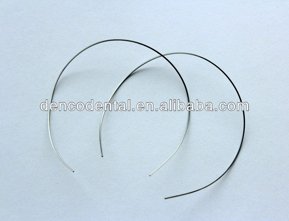 dental Orthodontic Niti Reverse Curved Arch Wires (Round ...