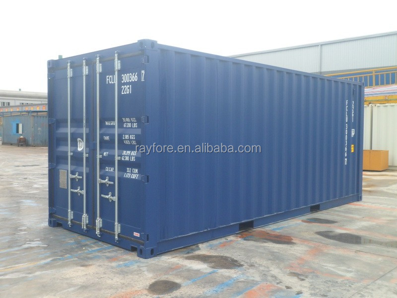 one shipment shipping container one way trip container