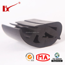 china professional car bumper waterstop seals rubber strip