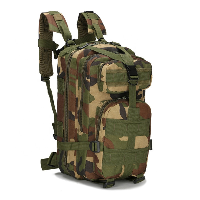 30L Backpack Outdoor Tactical Molle 3 Day Assault Pack Military Rucksacks Bug Out Bag for School Traveling Camping Trekking