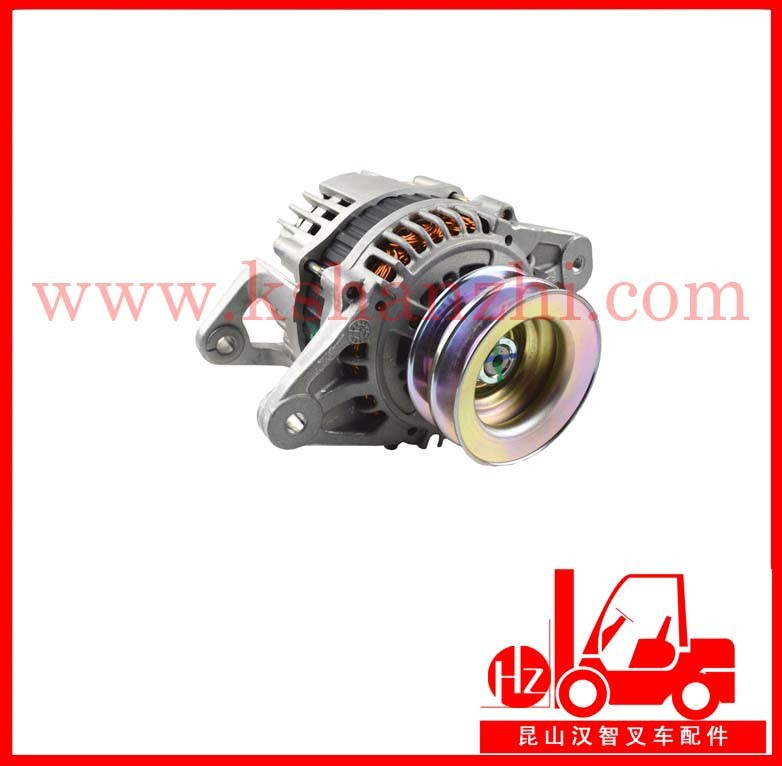 forklift spare parts alternator Nissan TD27 original 23100-7T403