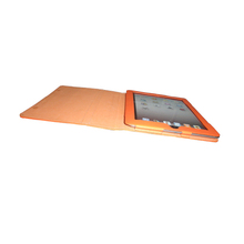 Cheap PU Leather Orange Tablet Case for Girls