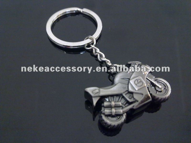 Promotional Motor Design Metal Key Ring With Cusomized Design