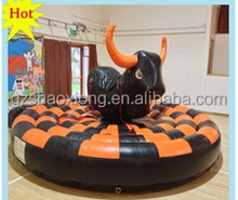 Best Price mechanical bull for sale,Inflatable Kids Mechanical Bull Riding Games With Air Blower