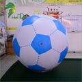 Hot Sale Advertising Helium Air Soap Bubble Football Balloons / Inflatable Football for Display