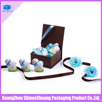 China factory supply customed paper chocolate packaging materials for box
