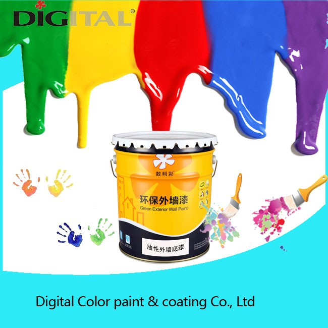 Super water resistance good anti mildew oliy exterior wall primer paint