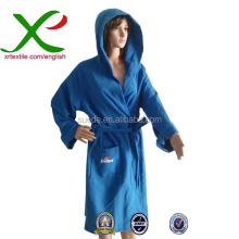 Fast Drying Microfiber Bathrobe for Swimming Sports