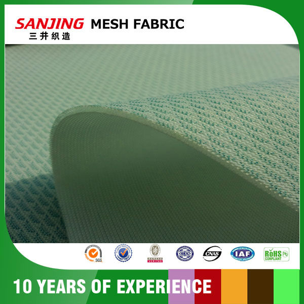 Yarn Dyed Plain Mesh Fabric for Upholstery