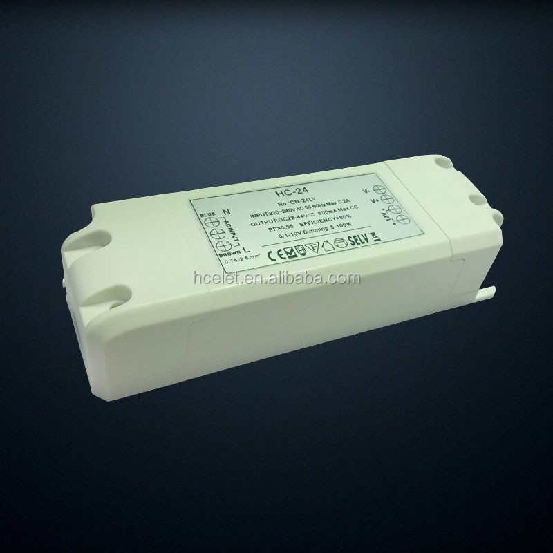 New Developed 18-24W Led Driver 300-350mA dimmable T8 led Tube external led driver