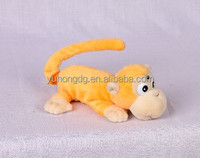 mini yellow rolling monkey