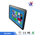 23.6 inch resistive / capacitive touch screen wall mount monitor