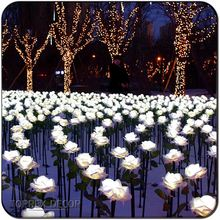 Wedding decoration items Steady Brightly white color artificial flowers for sale