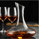 1800ml Red Wine Glass Decanter + 6pcs 350ml Glass Wine Cups Bar Sets Home Dinner Party Accessories Festival Birthday Gift