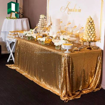 2017 new style table cloth for wedding