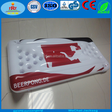 Inflatable beer pong table, Inflatable beer pong float, Inflatable beer pong mattress raft